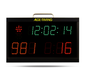 Start Clock with remote control
